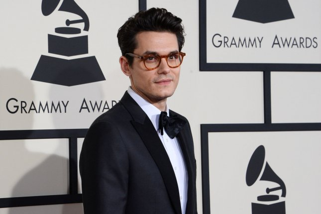 John Mayer at the Grammy Awards on February 8, 2015. File Photo by Jim Ruymen/UPI