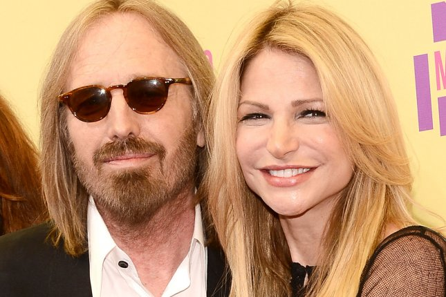 Tom Petty, shown here with his wife, Dana, set the music world reeling when he went into cardiac arrest at home and died at a California hospital at age 66 this fall. File Photo by Jim Ruymen/UPI