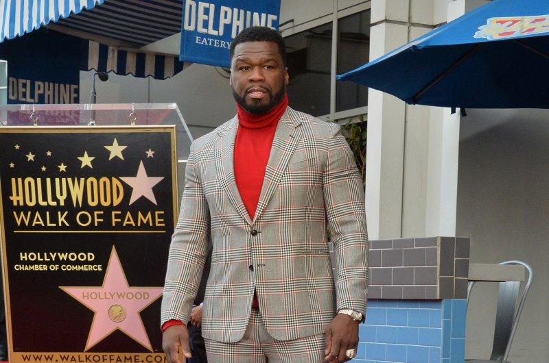Curtis 50 Cent' Jackson will produce Black Mafia Family on Starz. File Photo by Jim Ruymen/UPI