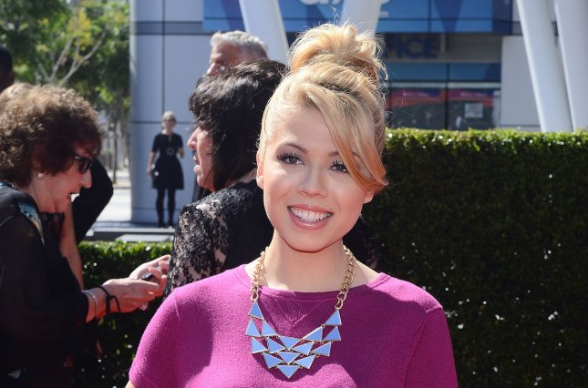 iCarly actress Jennette McCurdy attends the 2013 Primetime Creative Arts Emmy Awards at the Nokia Theatre L.A. LIVE in Los Angeles on Sept. 15, 2013. Photo by Jim Ruymen/UPI