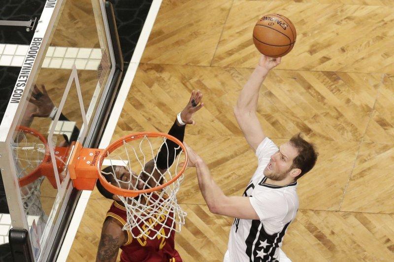 The Washington Wizards acquired Brooklyn Nets forward Bojan Bogdanovic in a trade that will bolster the team's bench scoring. Photo by John Angelillo/UPI
