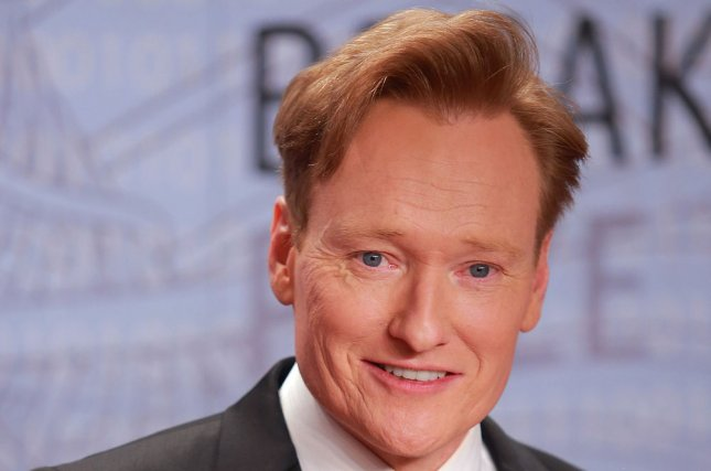 Conan O'Brien has announced that the last episode of Conan will arrive in June. File Photo by Mohammad Kheirkhah/UPI