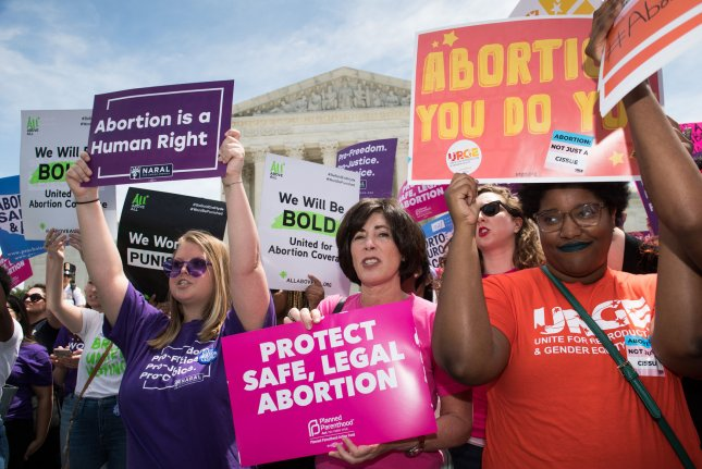 U.S. District Judge Kristine Baker issued a preliminary injunction Tuesday blocking a near-total abortion ban signed into law in Arkansas in March. File Photo by Kevin Dietsch/UPI