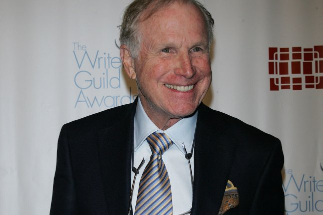 Wayne Rogers arrives for the Writers Guild Awards in New York on February 5, 2011. File Photo by Laura Cavanaugh/UPI