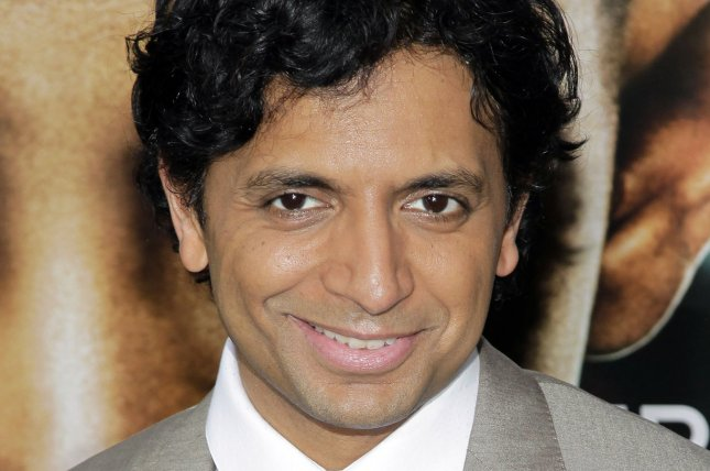 M. Night Shyamalan arrives at the premiere of After Earth in New York City on May 29, 2013. File photo by John Angelillo/UPI