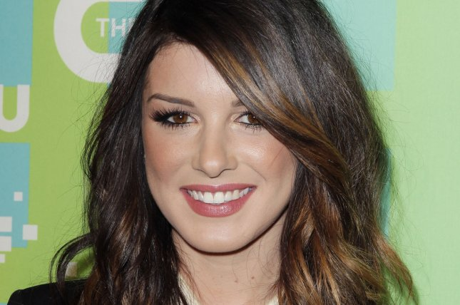 Shenae Grimes attends The CW upfront on May 17, 2012. File Photo by John Angelillo/UPI