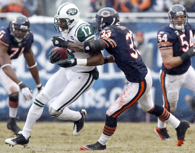 Former New York Jets wide receiver Braylon Edwards. Edwards has most recently been released by the 49ers prior to the final game of the regular season. UPI /Mark Cowan