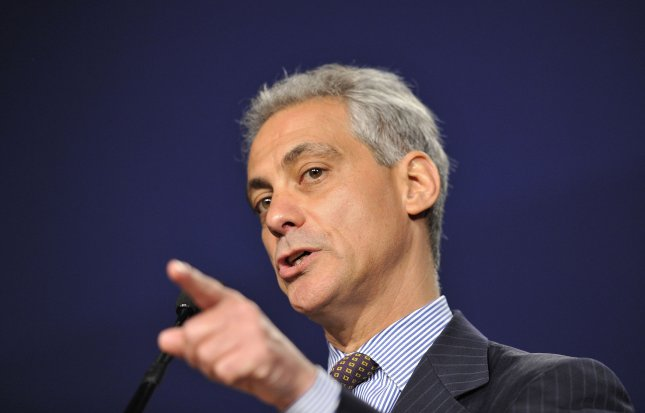 Chicago Mayor Rahm Emanuel speaks at a June 29, 2011, event in the city. UPI/Brian Kersey