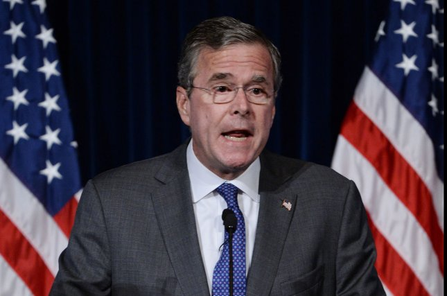 Republican presidential candidate Jeb Bush on Wednesday revealed details of his tax proposals, should he be elected president, which expand the tax brackets, lowers the standard filing deduction and many other things. Photo: Photo by Jim Ruymen/UPI