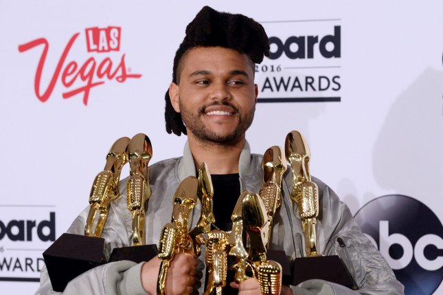The Weeknd at the Billboard Music Awards on May 22, 2016. File Photo by Jim Ruymen/UPI