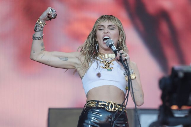 Miley Cyrus discussed how Hilary Duff inspired her to audition for Hannah Montana in an interview with the former Lizzie McGuire star. File Photo by Hugo Philpott/UPI