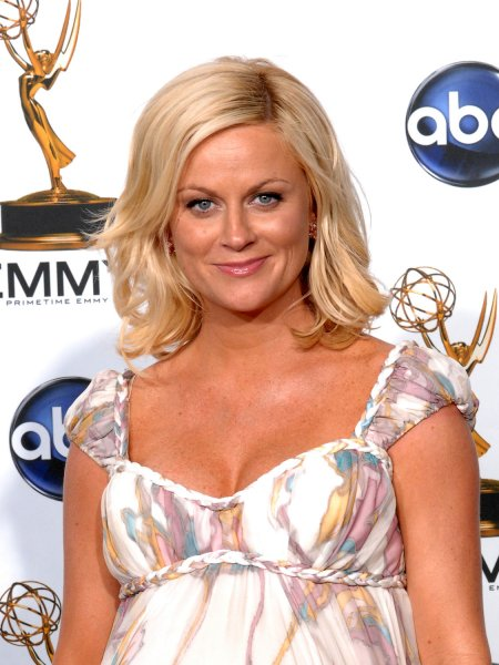 Amy Poehler appears backstage at the 60th Primetime Emmy Awards at the Nokia Center in Los Angeles on September 21, 2008. (UPI Photo/Scott Harms)