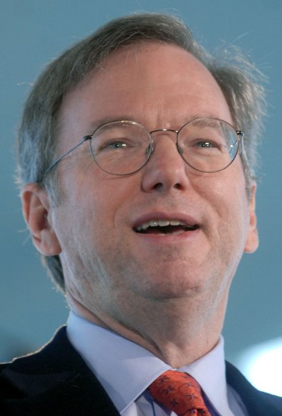 Google Chairman and CEO Eric Schmidt (UPI Photo/Kevin Dietsch)
