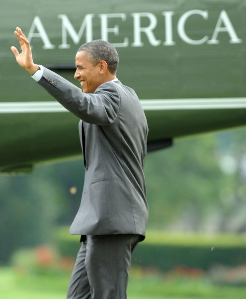 U.S. President Barack Obama, whose continued presidency depends on blocking the Keystone XL pipeline, according to critics. UPI/Roger L. Wollenberg