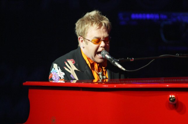 Iconic singer Elton John has canceled several U.S. shows set for April and May due to a rare infection he picked up in South America during a string of recent performances, representatives said Monday. File Photo by Daniel Gluskoter