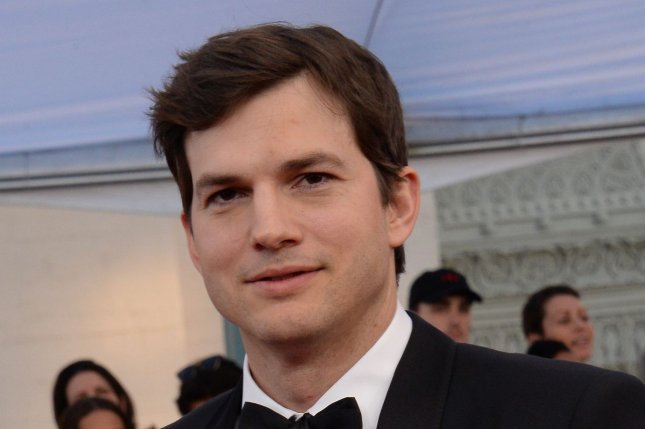 Ashton Kutcher attends the Screen Actors Guild Awards on January 29. The actor discussed daughter Wyatt and son Dimitri on Monday's episode of The Ellen DeGeneres Show. File Photo by Jim Ruymen/UPI