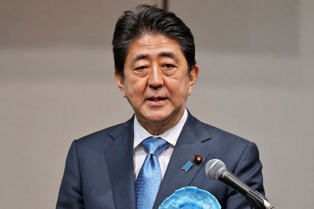 Japanese Prime Minister Shinzo Abe called an Oct. 22 election in the country's House of Representatives on Monday. File Photo by Keizo Mori/UPI
