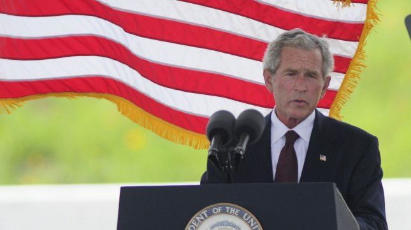President George W. Bush has undergone a heart stent operation. UPI/Archie Carpenter