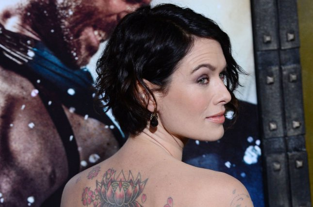Actress Lena Headey attends the premiere of the motion picture war drama 300: Rise of an Empire at TCL Chinese Theatre in the Hollywood section of Los Angeles on March 4, 2014. (File/UPI/Jim Ruymen)