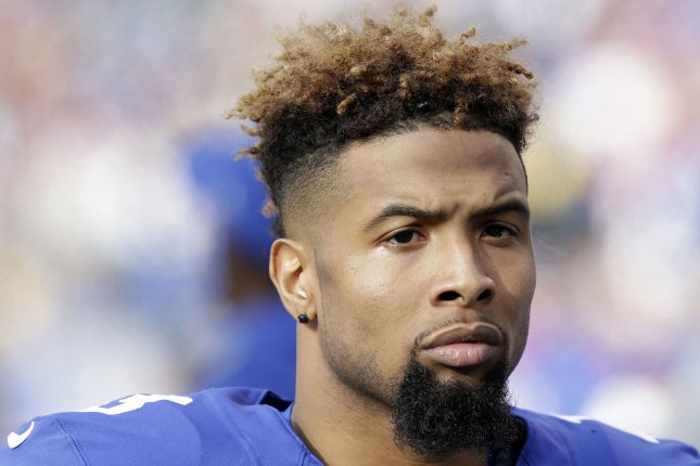 The Philadelphia Eagles face the New York Giants and WR Odell Beckham Jr. on Thursday Night Football where they will try to spoil the Giants bid to clinch a playoff spot. File photo by John Angelillo/UPI