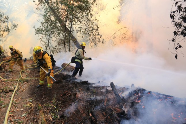 As the climate warms, forest fires are expected to become more common, altering the makeup of forests in Northern California. Photo by Khaled Sayed/UPI