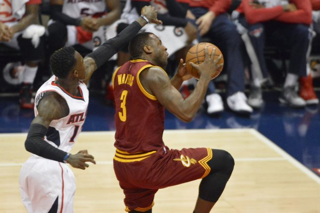Former Cleveland Cavaliers guard Dion Waiters (3) played in only three games for the Miami Heat this season. File Photo by David Tulis/UPI