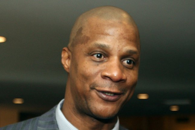 Former New York Mets slugger Darryl Strawberry makes an appearence at the Annual Pujols Family Foundation Holiday Party at the Chase Park Plaza Hotel in St. Louis on December 7, 2008. (File/UPI Photo/Bill Greenblatt)