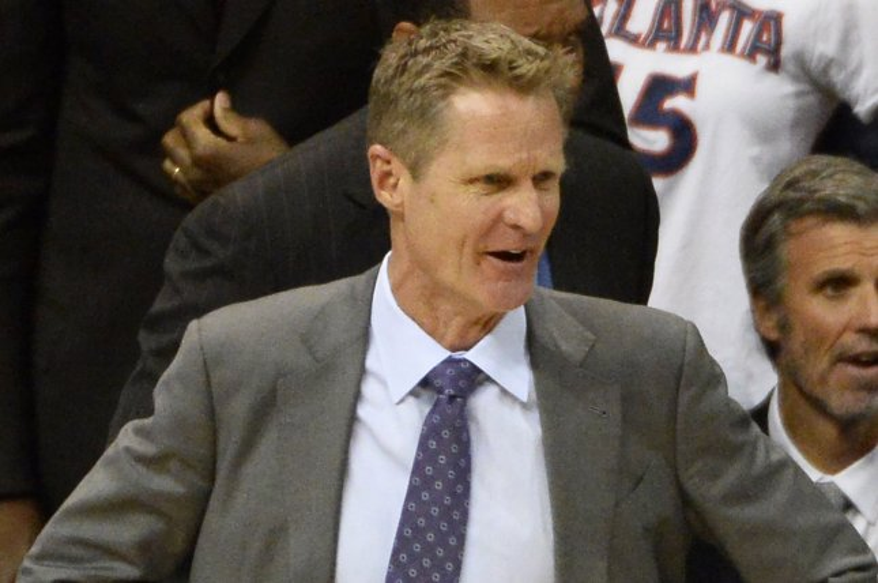Golden State Warriors head coach Steve Kerr. Photo by David Tulis/UPI