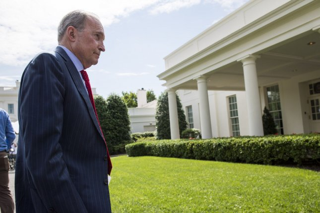White House economic adviser Larry Kudlow walks to the West Wing Friday after speaking to reporters about May's job numbers. The U.S. added 223,000 jobs and unemployment fell to 3.8%. Photo by Kevin Dietsch/UPI