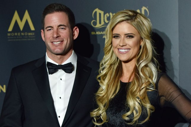 Tarek El Moussa (L), pictured with Christina El Moussa, spoke out following Christina's wedding to Ant Anstead. File Photo by Christine Chew/UPI