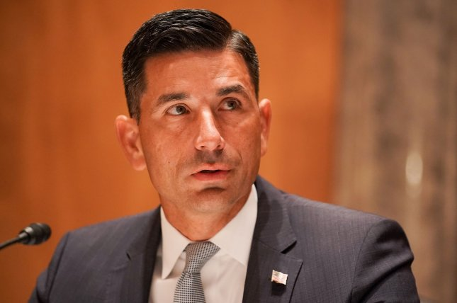 Department of Homeland Security acting Secretary Chad Wolf cited the validity of his appointment in resigning Monday. Pool File Photo by Greg Nash/UPI