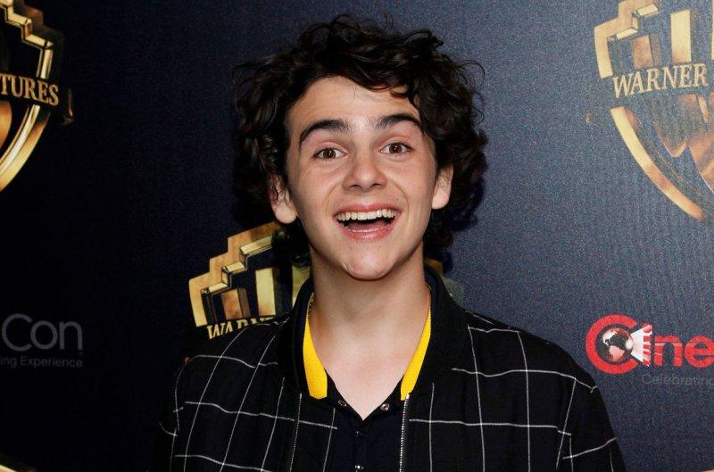 Luca voice actor Jack Dylan Grazer arrives for the CinemaCon 2019 Warner Bros Studio red carpet in April 2019. File Photo by James Atoa/UPI