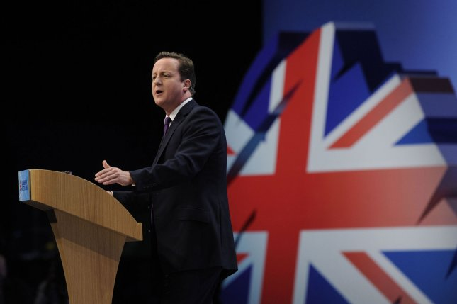 British Prime Minister David Cameron told members of Parliament he made the right call in rejecting changes to European Union treaties last week. UPI/Stringer