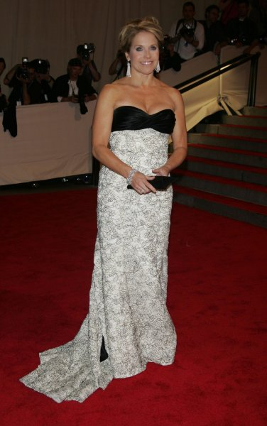 Katie Couric arrives for the Metropolitan Museums of Art's Costume Institute Gala at the Metropolitan Museum of Art in New York on May 3, 2010. UPI /Laura Cavanaugh