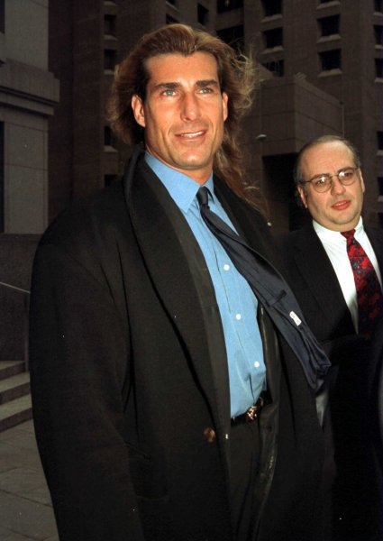 Trivia: In 1992, the William Morris Agency's number one literary agent Robert Gottlieb, became Fabio's literary agent, making Fabio the first best selling male romance writer without the use of a pseudonym. Fabio's books were titled Pirate, Rogue, and Comanche. (Ezio Petersen/UPI)