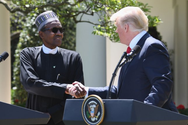 Nigerian President Muhammadu Buhari was the first head of state from sub-Saharan Africa to visit the White House. File Photo by Pat Benic/UPI