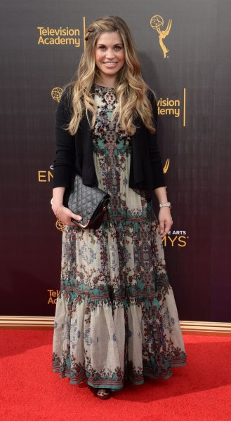 Danielle Fishel attends the Creative Arts Emmy Awards at Microsoft Theater in Los Angeles on September 10, 2016. The actor turns 40 on May 5. File Photo by Jim Ruymen/UPI