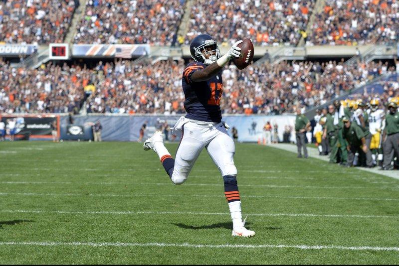 Chicago Bears wide receiver Alshon Jeffery. UPI/Brian Kersey