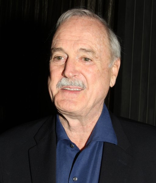 Actor John Cleese attends the premiere of the new musical Jersey Boys at The Palozzo casino in Las Vegas on May 3, 2008. Cleese is heading back to the BBC in the new comedy series Edith. File Photo by Daniel Gluskoter/UPI