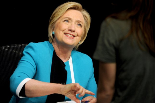 Former U.S. Secretary of State and first lady Hillary Clinton will be executive producing a television drama based on the book The Woman's Hour. File Photo by Dennis Van Tine/UPI