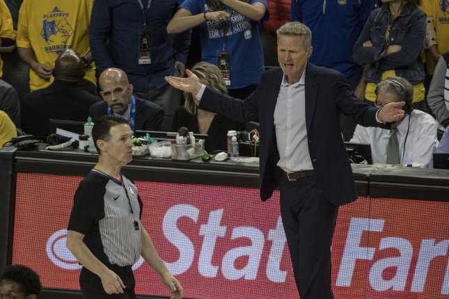 7413d8e00 Golden State Warriors head coach Steve Kerr and his team defeated the  Houston Rockets in Game 5 without Kevin Durant