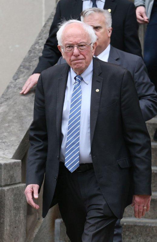 Sen. Bernie Sanders has 711 delegates compared to former Vice President Joe Biden's 864. Photo by Bill Greenblatt/UPI