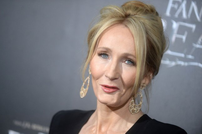 J. K. Rowling arrives on the red carpet at the 'Fantastic Beasts And Where To Find Them' World Premiere at Alice Tully Hall, Lincoln Center on November 10 in New York City. The writer turns 52 on July 31. File Photo by Dennis Van Tine/UPI