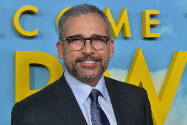 Steve Carell appeared on The Late Show with Stephen Colbert following Super Bowl LIII. File Photo by Jim Ruymen/UPI