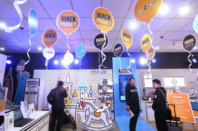Dozens of Amazon pop-up stores like this one will all close by April in the United States. File Photo by Stephen Shaver/UPI
