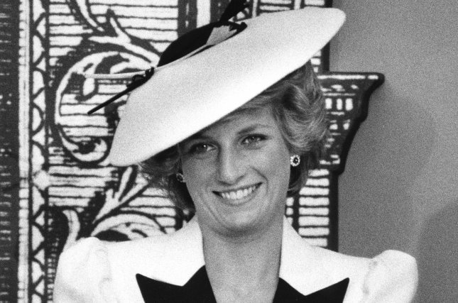 Princess Diana responds to reporters' questions in November 1985. ITV has ordered two new Princes Diana projects. File Photo by Doug Mills/UPI