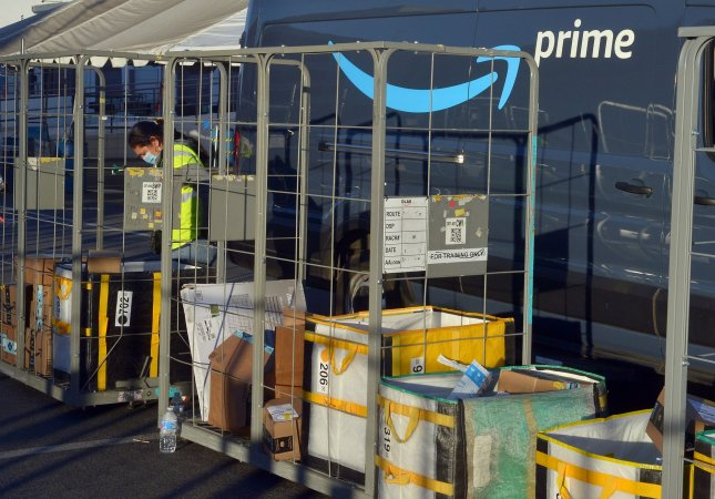 Amazon announced Wednesday in a blog two new programs to cut waste. File Photo by Jim Ruymen/UPI