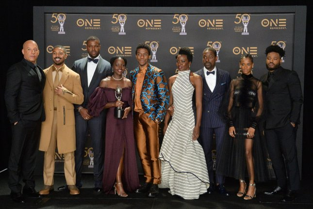 Michaela Coel is joining the ensemble for the sequel to 2018's Black Panther. File Photo by Jim Ruymen/UPI