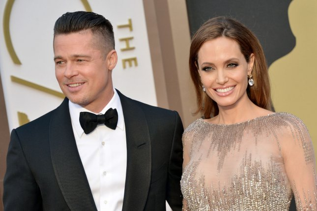 Brad Pitt (L) may star in new Angelina Jolie film 'Africa.' Photo by Kevin Dietsch/UPI