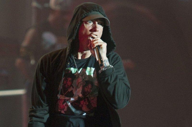 Eminem celebrated on social media 10 years of sobriety. File Photo by Heinz Ruckemann/UPI